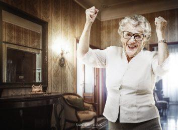 grandma in home
