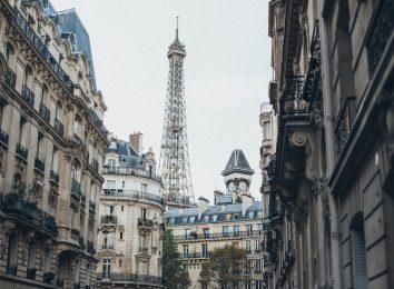 Paris France Trip Kids