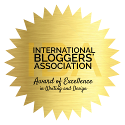 Proudly recognized for excellence by the International Bloggers' Association