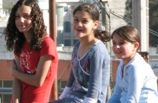 kids smiling happy