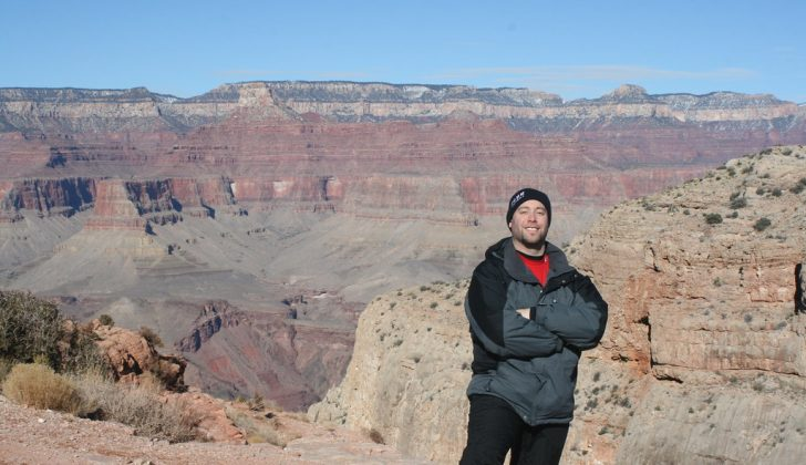 grand canyon man