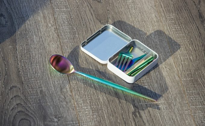 Worlds smallest cutlery set