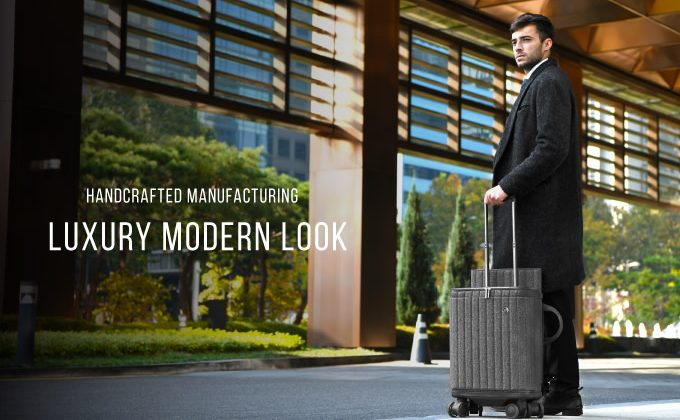 Rollogo Power Generating suitcase