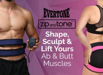 Evertone abs butt exercise belt