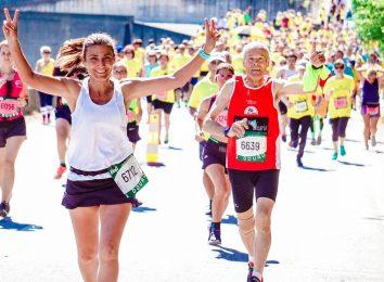 woman jogging running