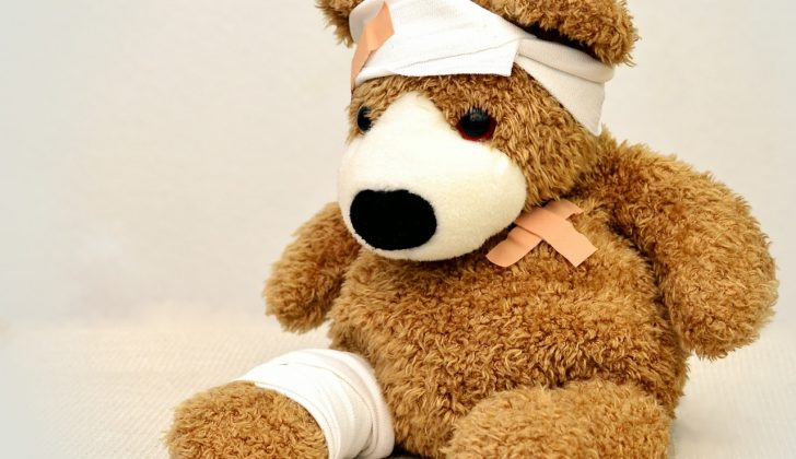 pediatrician sick teddy bear
