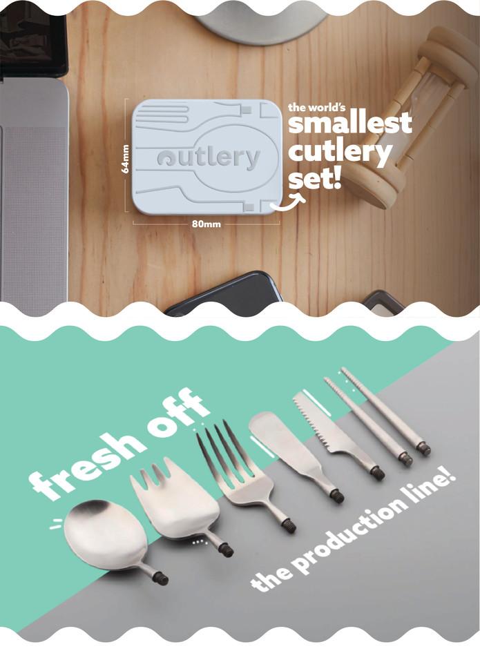 Outlery cutlery utencils