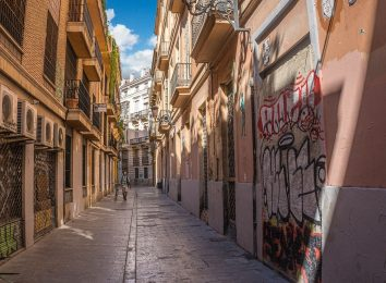 Valencia Spain streets