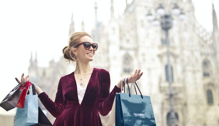 woman fashion designer accessories