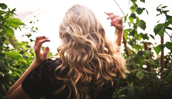 healthy hair blonde