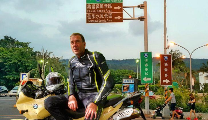 motorcycling in taiwan