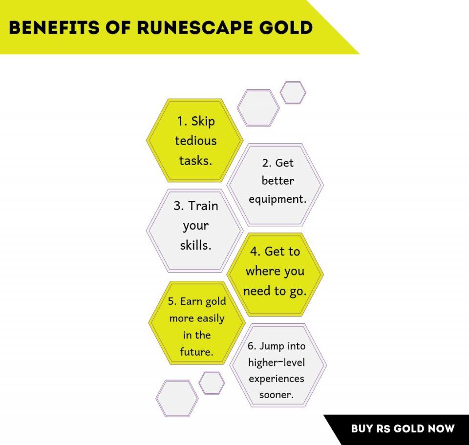 benefits of runescape gold