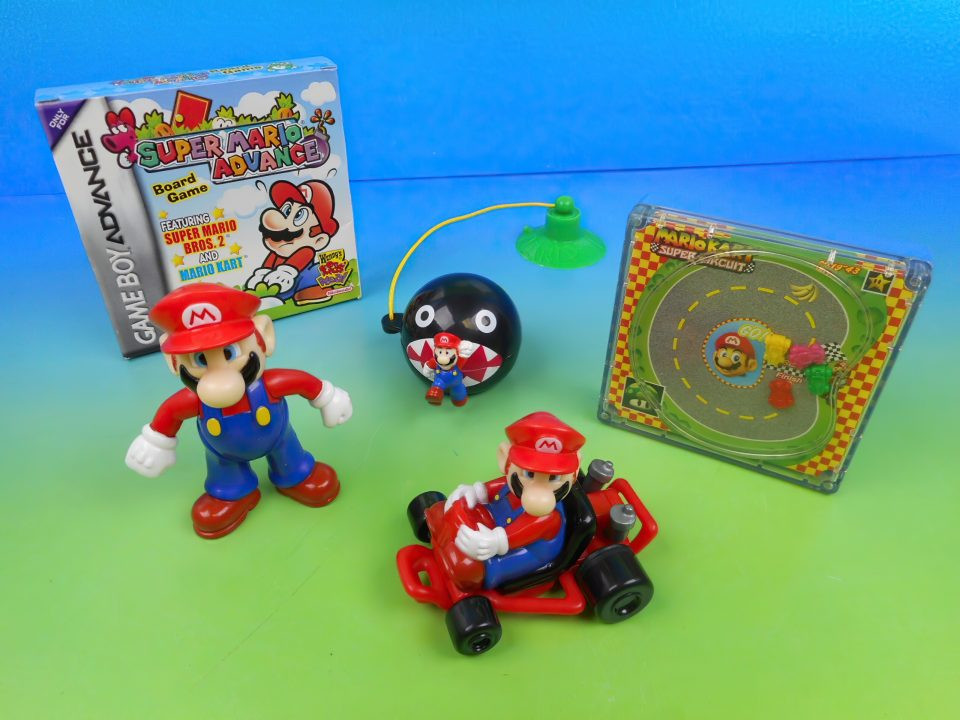 super maria wendys kids meal toys
