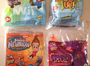 wendys kids Meal Toys