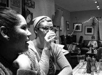 christmas dinner drinking