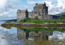 eilean donan castle castle eilean donan scotland enlarged