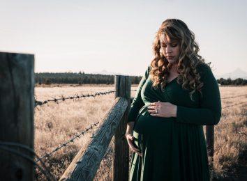 large lady pregnant