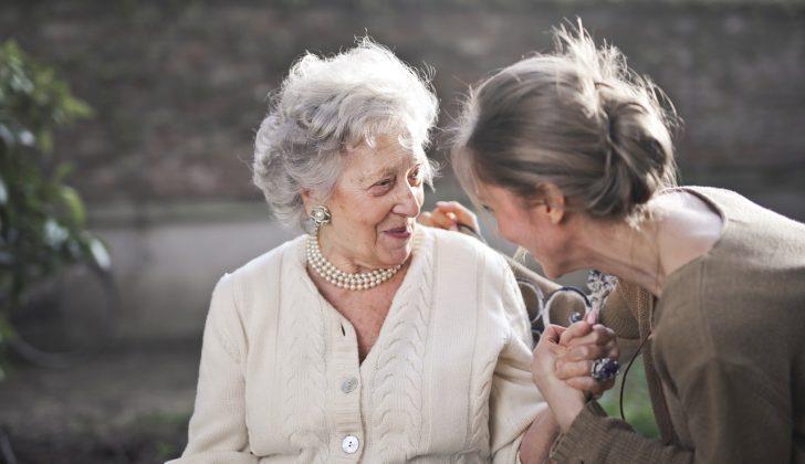 Old lady grandma
