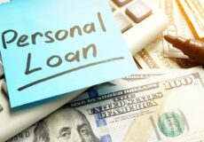 personal loan sticky note